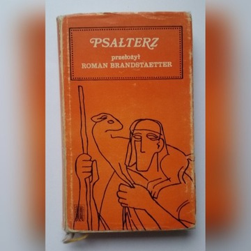 Psałterz psalmy - stary modlitewnik śpiewnik 1971