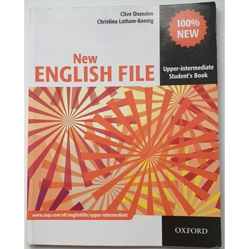 New English File Upper intermediate Student's Book