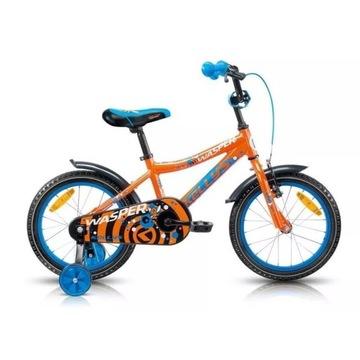 """Rower dziecięcy Kellys Wasper Orange Koła 16"""" nowy"""