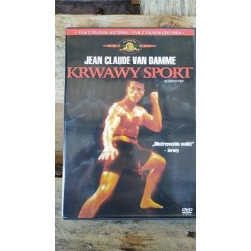 Krwawy Sport Blood Sport Van Damme Lektor PL Dvd