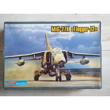 Mig-27K Flogger 1:72 ArtModel 7214 model samolotu