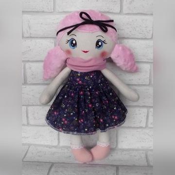 Lalka szmacianka handmade prezent roczek 40 cm