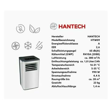 Klimatyzator przenośny hantech 900