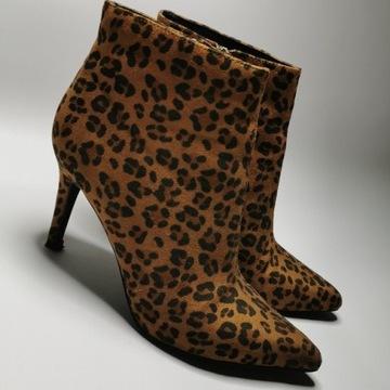 Buty na obcasie jesienne rozmiar 38
