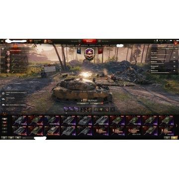 Konto World of Tanks Chieftain,907,VK,260, Premki