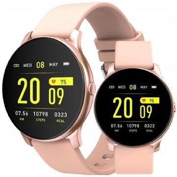 Zegarek Smartwatch Womem Rubicon RNCE40WR30 różowy