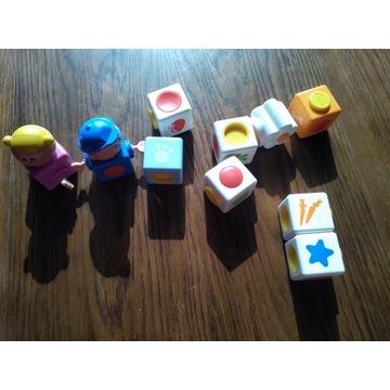 Magnetyczne klocki dla dzieci CHICCO zestaw 11szt