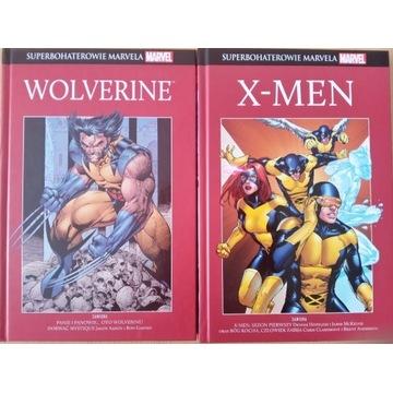 Superbohaterowie Marvela Wolverine i X-men