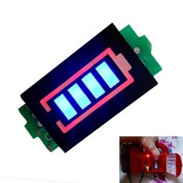 Wskaźnik naładowania baterii 12.6v