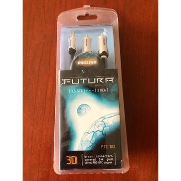 Kable Prolink FUTURA 3,5STR-2RCA FTC 103 5 m