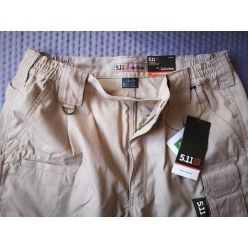 Spodnie 5.11 Taclite Khaki rozm. 32/34