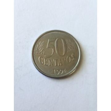 50 centavos Brazylia 1994