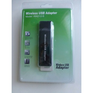 USB Wireless Wi-Fi Adapter Model: WAD12-S