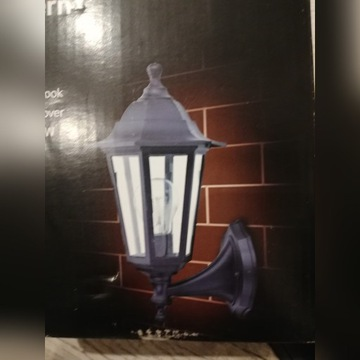 Lampa kinkiet zewnętrzny e27 retro klasyk