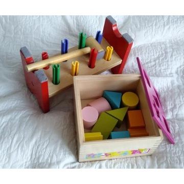 Zabawki drewniane 18m+