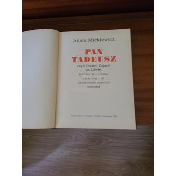 """""""Pan Tadeusz"""" Adama Mickiewicza z 1985 roku"""