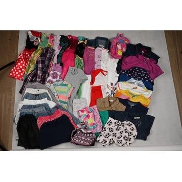 Zestaw 48 ubranek, dziewczynka, rozm 104-116