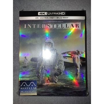 Interstellar PL 4K + 2D steelbook blu ray MantaLab