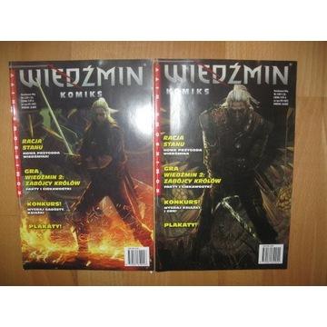 KOMIKSOWE HITY - WIEDŹMIN - RACJA STANU 1+2 NOWE