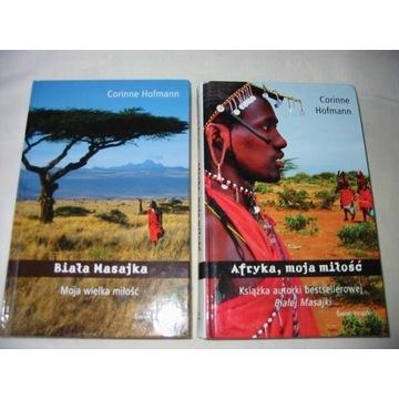 CORINNE HOFMANN BIAŁA MASAJKA+AFRYKA MOJA MIŁOŚĆ