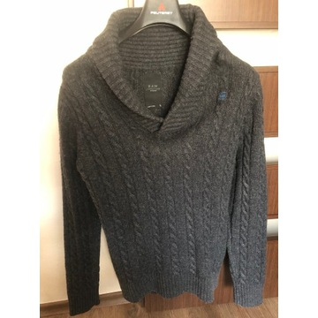 Sweter wełna owcza G-STAR, rozmiar L