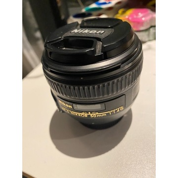 Obiektyw Nikon AFS 50 mm 1.4