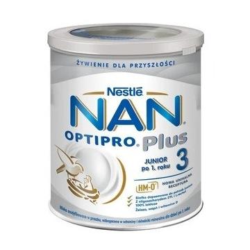 Nestle NAN Optipro Plus 3 HM-O. mleko modyfikowane