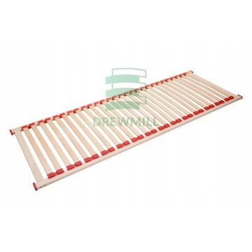 Stelaż elastyczny BUK materac do łóżka D 100x200