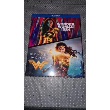 Wonder Woman kolekcja 2 filmów Blu-Ray Folia PL