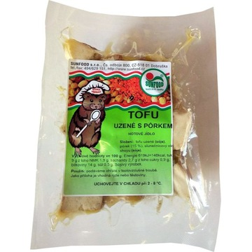 Tofu WEDZONE Z POREM 200g - SunFood (00160)L