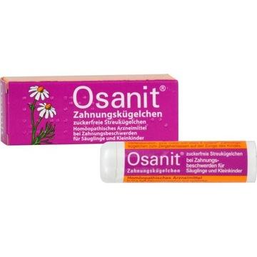 Osanit granulki homeopatyczne na ząbkowanie Nowe