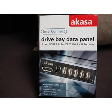 AKASA porty USB wewnętrzne