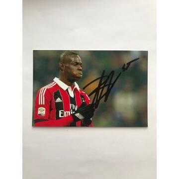 Oryginalny autograf Mario Balotelliego!
