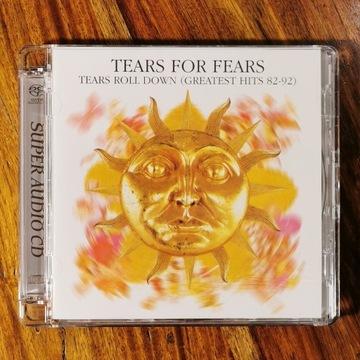 TEARS FOR FEARS Tears Roll Down,Greatest SACD nowa
