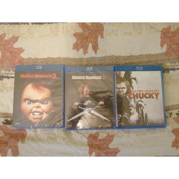 Laleczka Chucky 3   2 Klątwa laleczki blu ray
