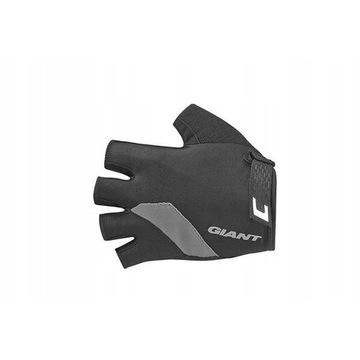 Rękawiczki Giant Tour krótki palec, czarne, M