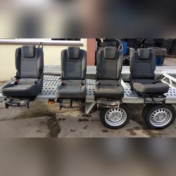 Renault Grand Scenic III fotel środkowy II  rzedu