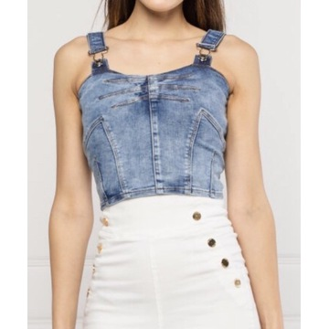 Top Guess jeansowy Diana jeans S 36