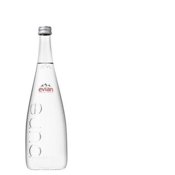 Francuska woda Evian Pure 0,75l szkło alkaliczna