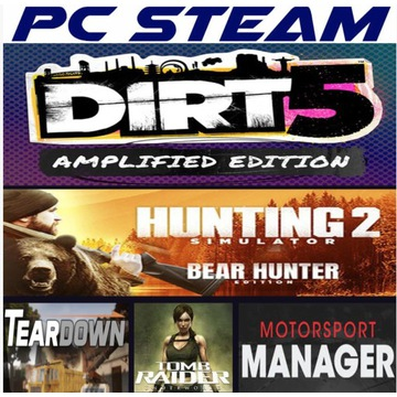 DIRT 5 Hunting Simulator 2 TEARDOWN 5GIER PC STEAM