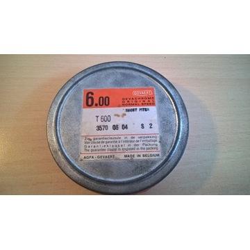 Film 16mm Gevachrome 6.00 T600 100ft 30.5m
