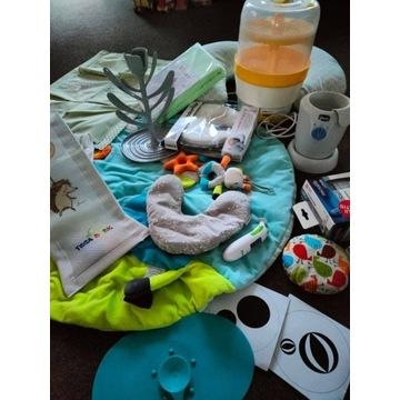 Zestaw wyprawka dla niemowlaka, do karmienia, inne