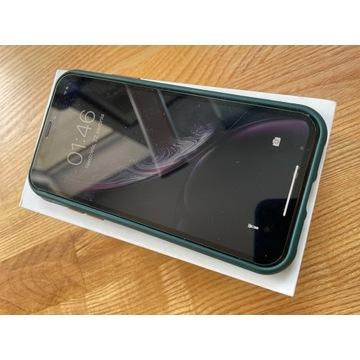 Apple iPhone XR 256 GB czarny / szkło +cover