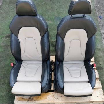 Fotele audi a5 Sportback wersja exclusive boczki