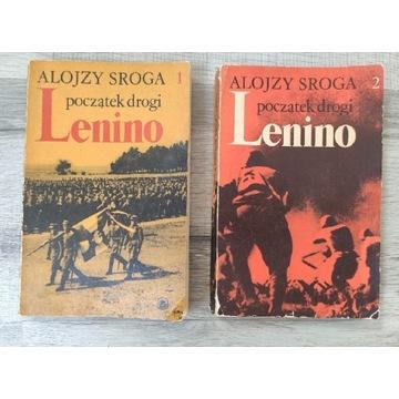 Lenino początek drogi Alojzy Sroga