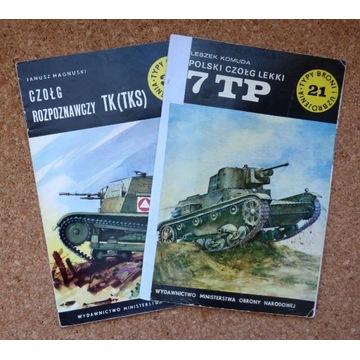 [W] Czołg rozpoznawczy TK (TKS). Czołg lekki 7 TP