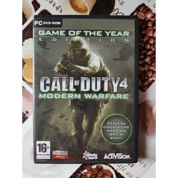 Call of Duty 4 Modern Warfare PL PC - Stan idealny