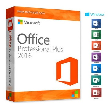 Klucz Microsoft Office 2016 Pro PL