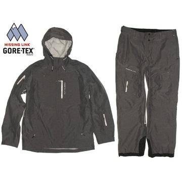 Missing Link Gore Tex kurtka spodnie komplet XL