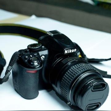 LUSTRZANKA NIKON D3100 + OBIEKTYW NIKKOR18-55mm